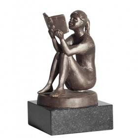 Luxury gifts of Artihove - Girl reading - 015614MSLH
