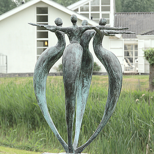 Luxury gifts of Artihove - Sculpture Einheit - 001200MSB - 001200MSB