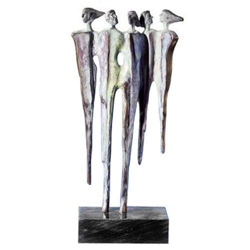 Luxury gifts of Artihove - Sculpture Diversity - 011000MSB - 011000MSB