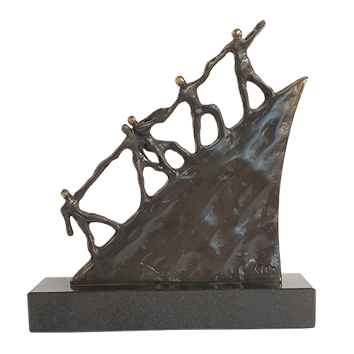 Luxury gifts of Artihove - Sculpture On the road - 011606MSBQ - 011606MSBQ