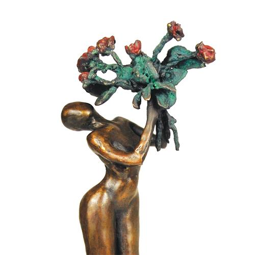 Luxury gifts of Artihove - Sculpture La vie en rose - 016698MSBQ - 016698MSBQ