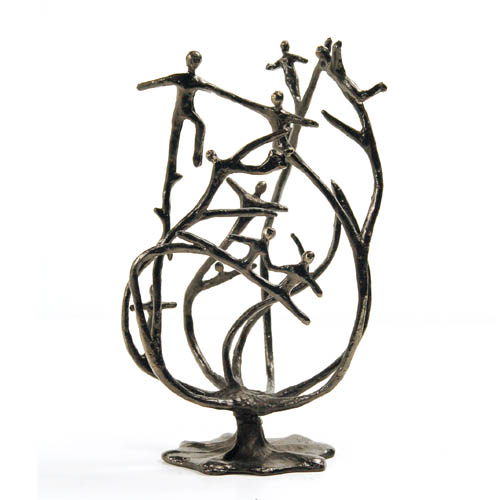 Luxury gifts of Artihove - Sculpture The base of an organisation - 017307MSLQ - 017307MSLQ