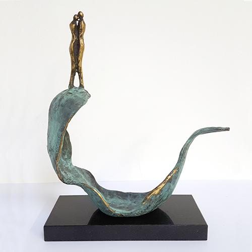 Luxury gifts of Artihove - Sculpture On the biggest wave. - 018411MSB - 018411MSB