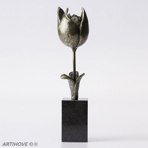 Luxury gifts of Artihove - Sculpture Spring tulip - 018684MSLQ - 018684MSLQ