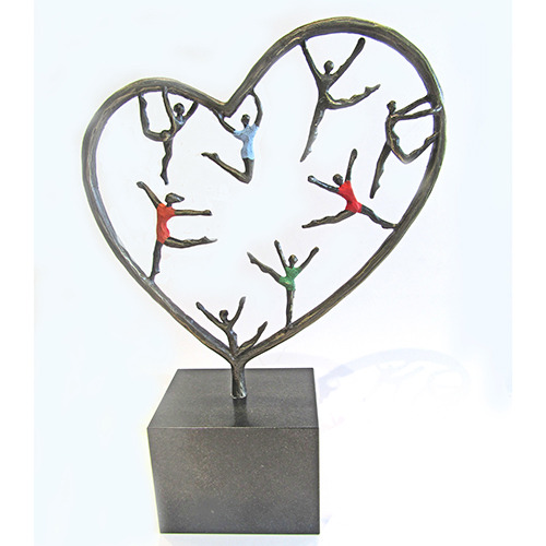 Luxury gifts of Artihove - Sculpture Heart for children - 018895MSL - 018895MSL