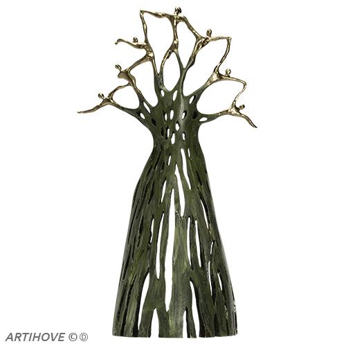 Luxury gifts of Artihove - Sculpture Strong golden strengths - 018913MSL - 018913MSL