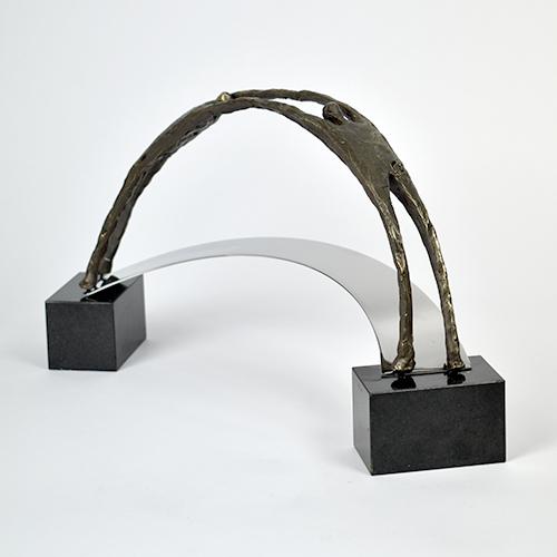 Luxury gifts of Artihove - Sculpture Realistic bridge builders - 019304MSL - 019304MSL