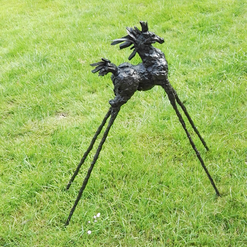 Luxury gifts of Artihove - Sculpture Horse on high legs - ROBM001001 - ROBM001001